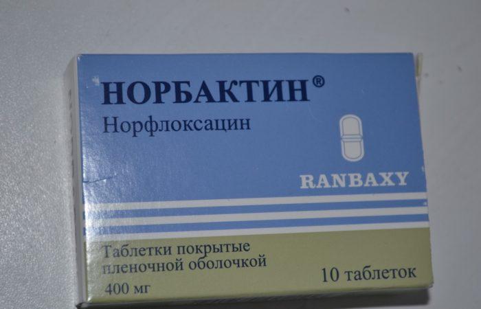 Как принимать норбактин при цистите