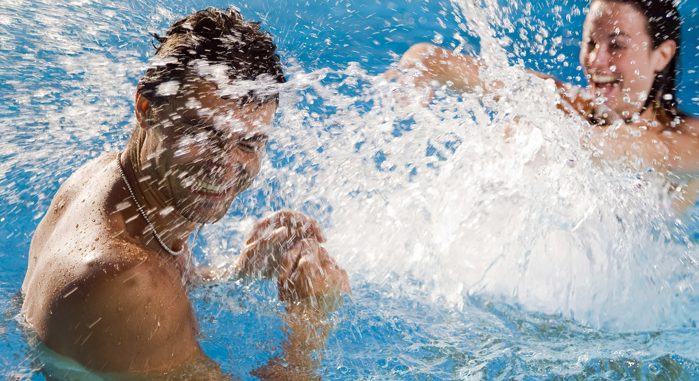купаться можно только в знакомых местах