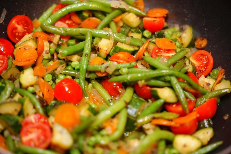 Овощные блюда на пару рецепты