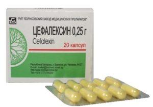 почечные антибиотики названия