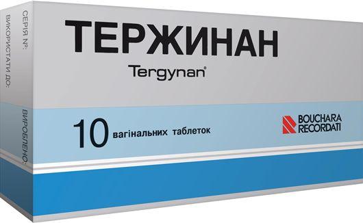 Как применять вагинальные таблетки Тержинан от цистита